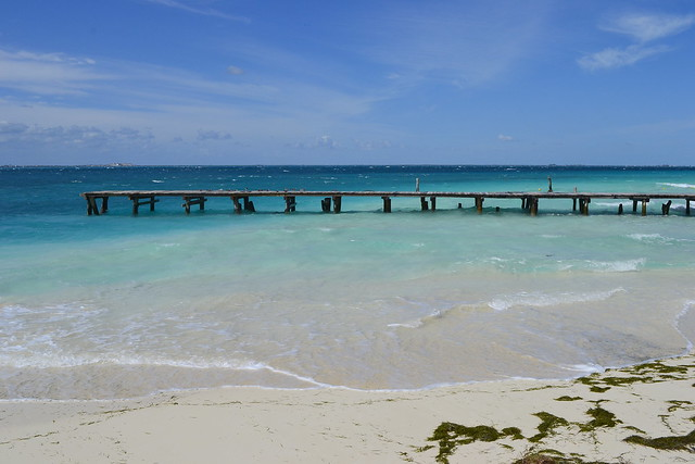 Cancun alternatives _ Pier at Isla Mujeres