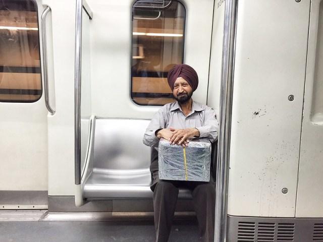 Delhi Metro - The Wenger's Man, Blue Line