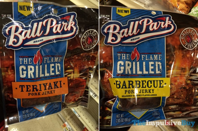 Ball Park The Flame Grilled Beef Jerky (Teriyaki and Barbecue)