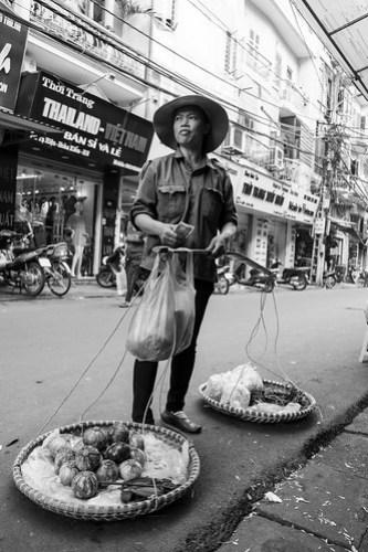 Street vendor. Hanoi
