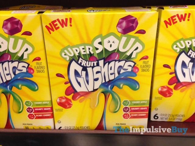 Super Sour Fruit Gushers