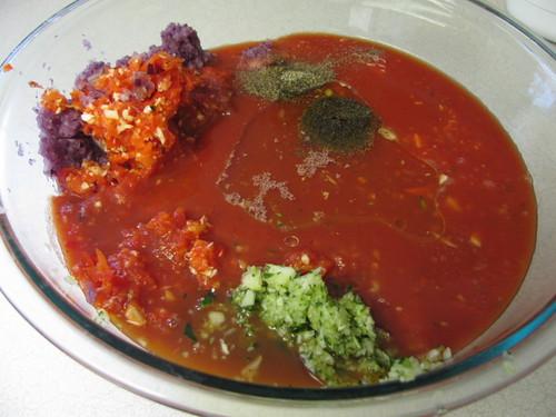 Barefoot Contessa's Gazpacho