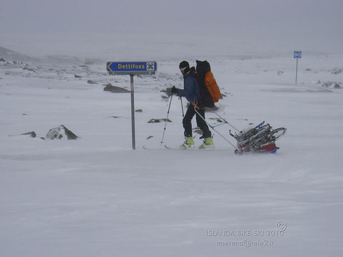 Cycling & Skiing in Iceland