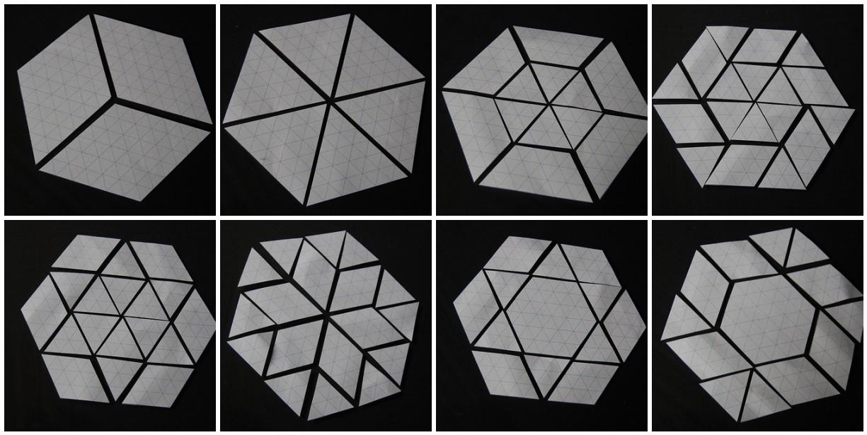 Lily\u0027s Quilts Hexalong - templates