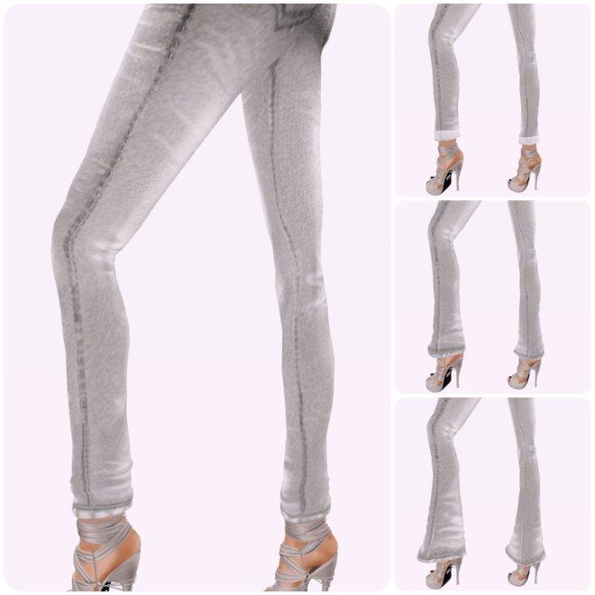 Zaara : Classic jeans *white*