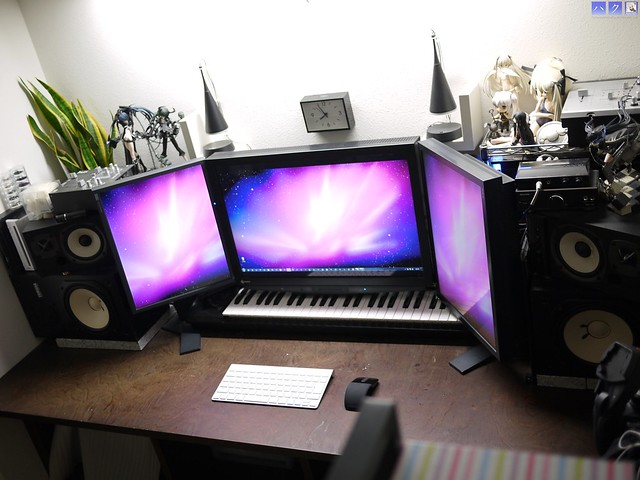 Workspace as of 2011/10/2