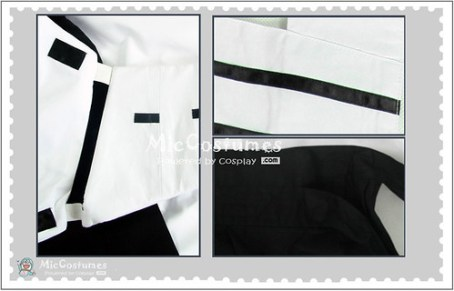Bleach Uryuu Ishida New Cosplay Costume3