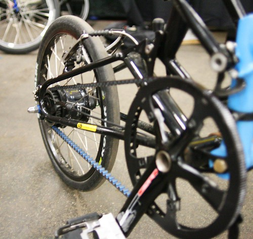 Bike Friday Tikit w/ belt drive