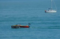 """Pier Speedboat • <a style=""""font-size:0.8em;"""" href=""""http://www.flickr.com/photos/59278968@N07/6325910438/"""" target=""""_blank"""">View on Flickr</a>"""