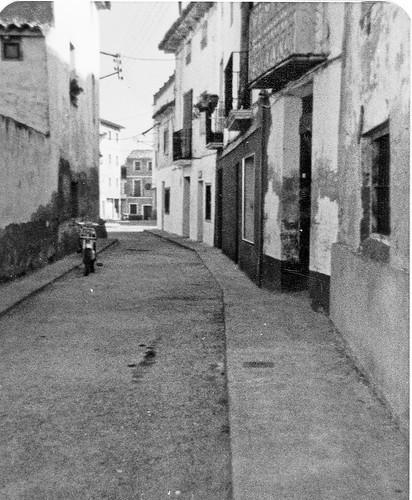 Calle de la antigua Telefonica