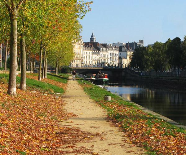 autumn walk in France