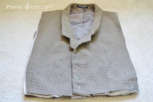 Tweed Blazer Step 3