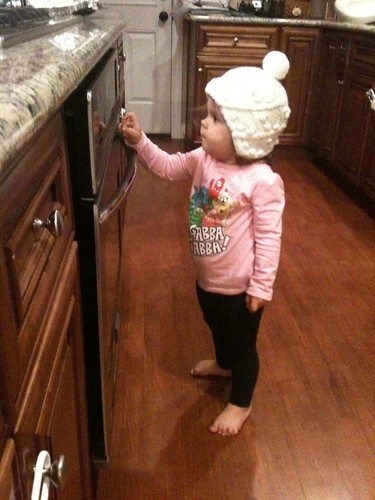 Playing with THE OVEN.