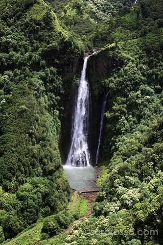 Manawaiopuna Falls (from Jurassic Park), Kauai, Hawaii
