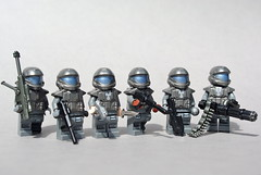 ODST Squad: 105th Shock Troops Division