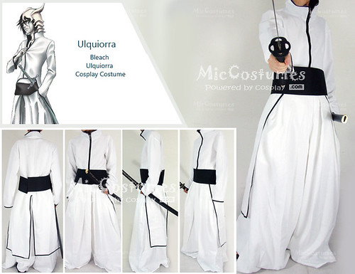 Bleach Ulquiorra Cosplay Costume