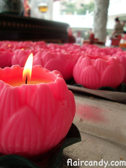 Thean Hou Temple, candle