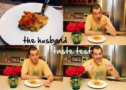 husband taste test