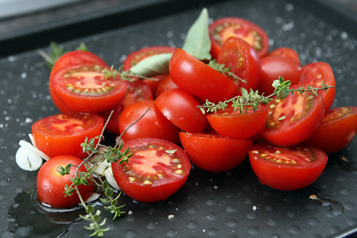 tomatoes for tomato basil pizza