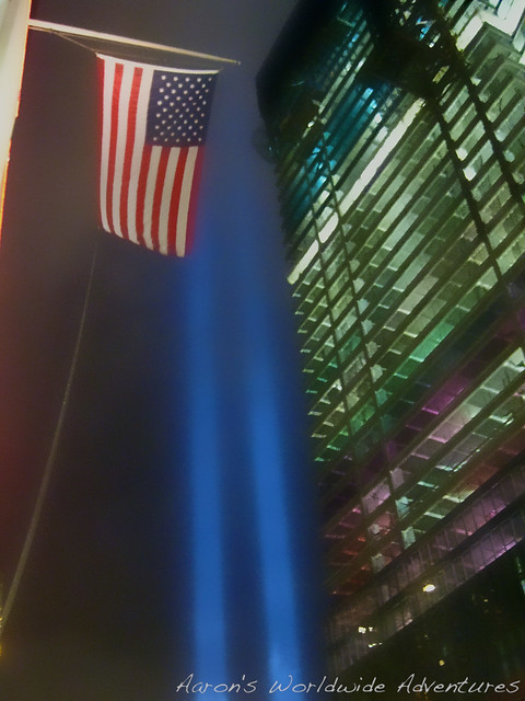 Tribute in Light at WTC