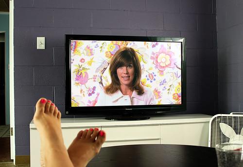 Sarah Richardson watching