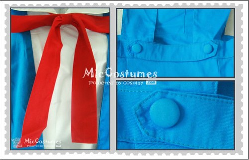 Neon Genesis Evangelion Senior School Uniform Cosplay Costume