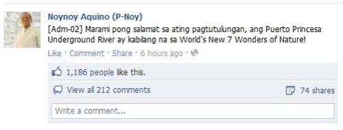 It was allover the internet recently. Even Philippine President PNoy Aquino messaged about the result in their official Facebook account