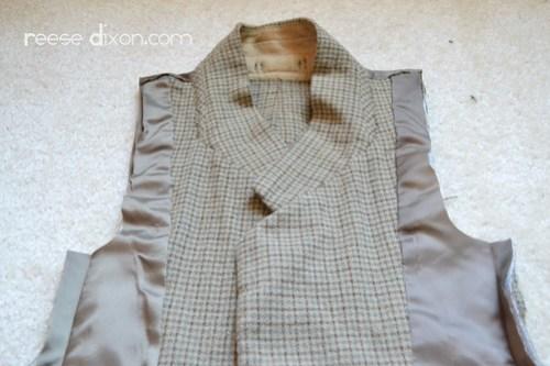 Tweed Blazer Step 5