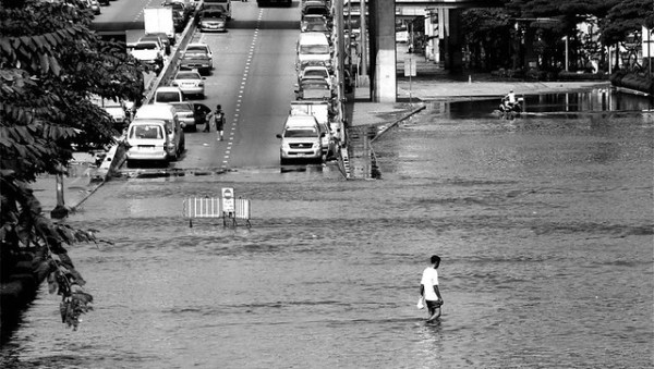 Situacin Bangkok inundado