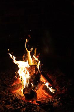 Porteño fire