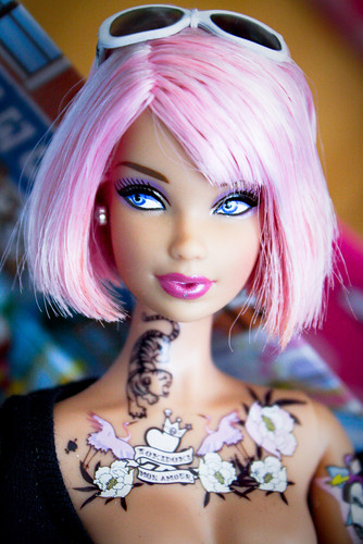 Barbie Girl Doll Wallpaper Tattoo Barbie For Sale Wallpaper Pictures