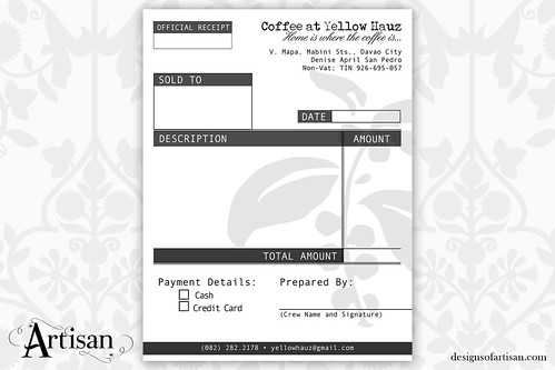 Company Branding Invoice and Receipt \u2013 iamartisan - difference between invoice and receipt