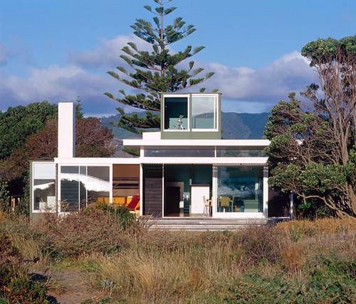 Beach homes north island nz homestilo for Beach house builders new zealand