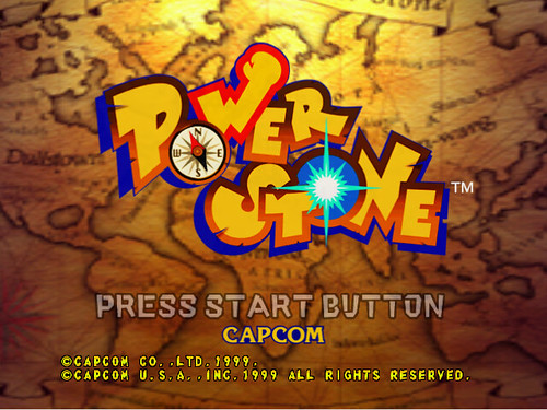Power Stone - start screen