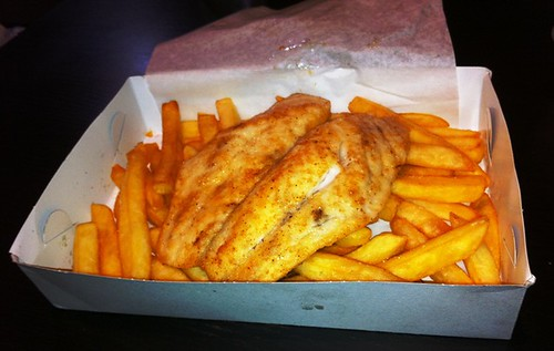 Peri Peri Grilled Fish & Chips - Swish & Chips