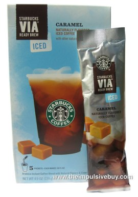 Starbucks VIA Caramel Flavored Iced Coffee