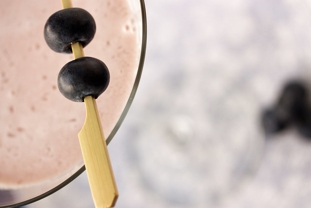 Blueberry Cheesecake Martini