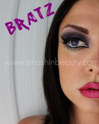 Bratz Doll Halloween Makeup