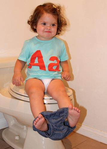 I want to flush!!!