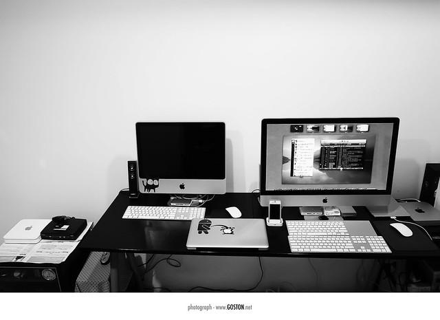 2011.07.13 我的電腦桌