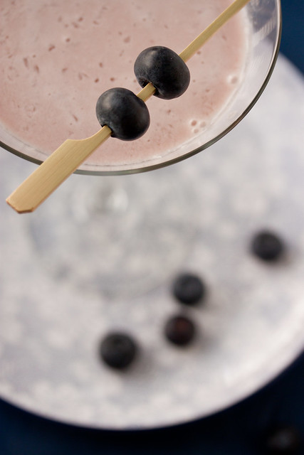 Blueberry Cheescake Martini