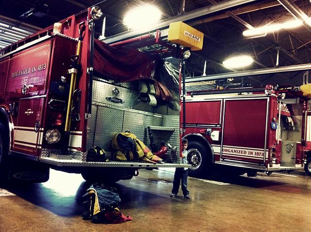 Fire Truck Peek