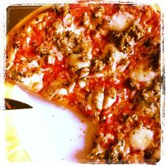 Lekker!!! Pizza Tonno...