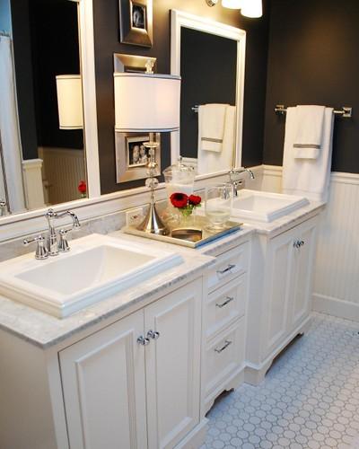 houzz bath overmount sink