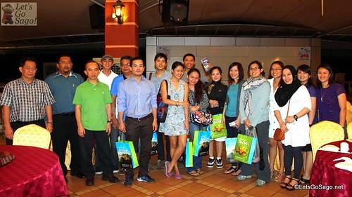 Dinner = Sabah Tourism Board + Malaysia Tourism + Philippine Media