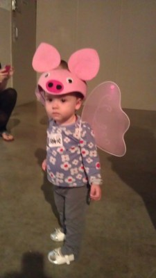 abbie flying this morning at toddler jam...