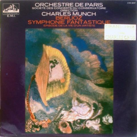 FR PATHÉ MARCONI CVB-2037 CHARLES MUNCH, ORCHESTRE DE PARIS BERLIOZ: SYMPHONIE FANTASTIQUE