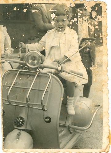 En moto