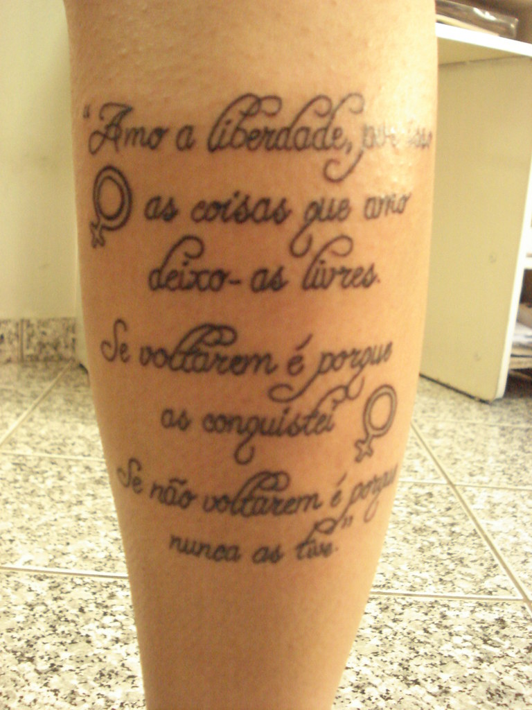 Tattoo Arte Frases The World S Most Recently Posted Photos Of Frase And Tattoo