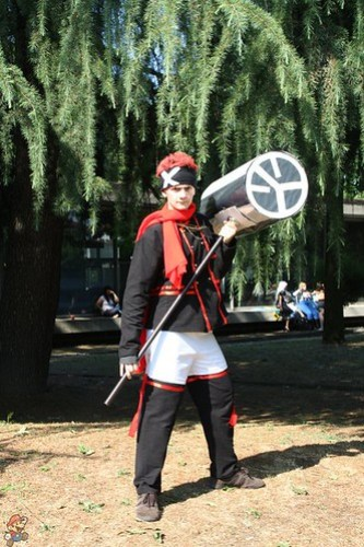 D. Gray Man Lavi Cosplay